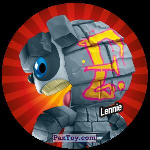 PaxToy.com  Фишка / POG / CAP / Tazo 101 Lennie из Gamesa: Super Funki Punky