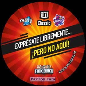 PaxToy.com - Фишка / POG / CAP / Tazo 101 Lennie (Сторна-back) из Gamesa: Super Funki Punky