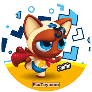 PaxToy.com  Фишка / POG / CAP / Tazo 103 Sniffie из Gamesa: Super Funki Punky