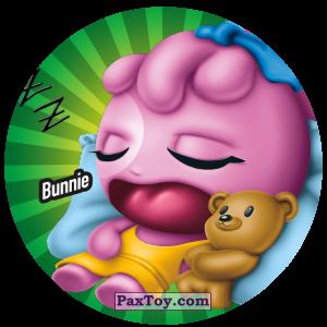 PaxToy.com  Фишка / POG / CAP / Tazo 106 Bunnie из Gamesa: Super Funki Punky