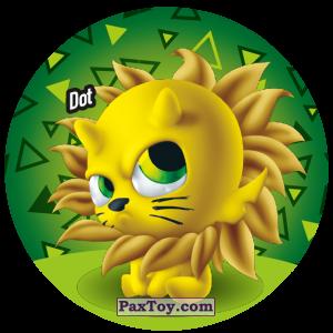 PaxToy.com  Фишка / POG / CAP / Tazo 108 Dot из Gamesa: Super Funki Punky