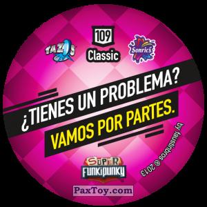 PaxToy.com - Фишка / POG / CAP / Tazo 109 Lennie (Сторна-back) из Gamesa: Super Funki Punky