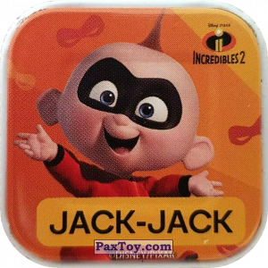 PaxToy.com - 11 Jack-Jack из Woolworths: Disney Words