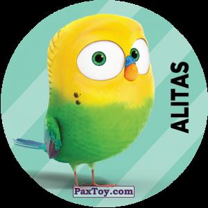 PaxToy.com  Фишка / POG / CAP / Tazo 110 Alitas (METAL) из Cheetos: La Vida Secreta De Tus Mascotas