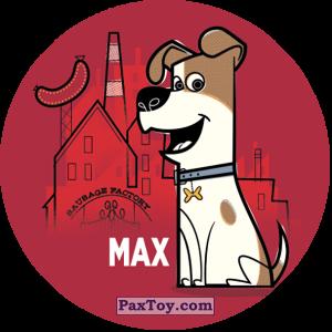 PaxToy.com  Фишка / POG / CAP / Tazo 112 Max (METAL) из Cheetos: La Vida Secreta De Tus Mascotas