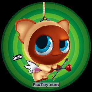 PaxToy.com  Фишка / POG / CAP / Tazo 114 Sniffie из Gamesa: Super Funki Punky