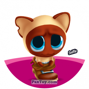PaxToy.com  Фишка / POG / CAP / Tazo 116 Sniffie из Gamesa: Super Funki Punky
