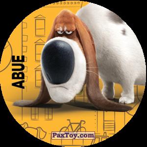PaxToy.com  Фишка / POG / CAP / Tazo 118 Abue (METAL) из Cheetos: La Vida Secreta De Tus Mascotas