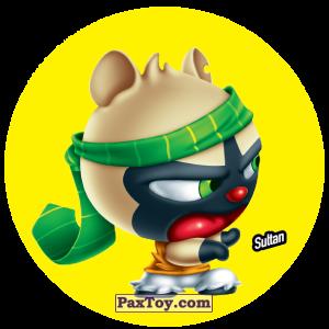 PaxToy.com  Фишка / POG / CAP / Tazo 123 Sultan из Gamesa: Super Funki Punky