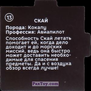 PaxToy.com - 13 Пазл - Скай (Сторна-back) из Растишка: Щенячий патруль