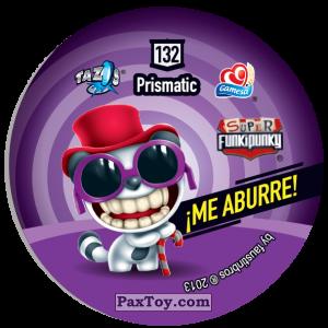 PaxToy.com - Фишка / POG / CAP / Tazo 132 Lennie (Сторна-back) из Gamesa: Super Funki Punky
