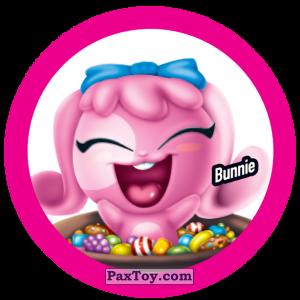 PaxToy.com  Фишка / POG / CAP / Tazo 144 Bunnie из Gamesa: Super Funki Punky
