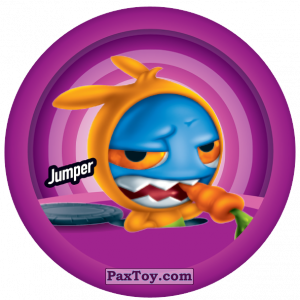 PaxToy.com  Фишка / POG / CAP / Tazo 145 Jumper из Gamesa: Super Funki Punky