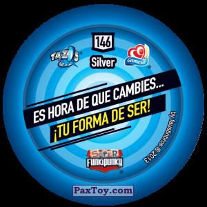 PaxToy.com - Фишка / POG / CAP / Tazo 146 Dot (Сторна-back) из Gamesa: Super Funki Punky