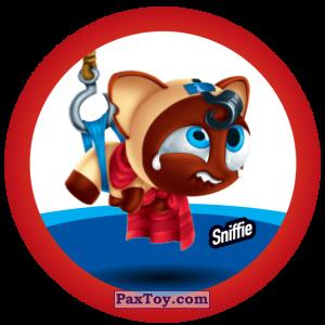 PaxToy.com  Фишка / POG / CAP / Tazo 147 Sniffie из Gamesa: Super Funki Punky
