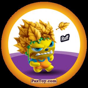 PaxToy.com  Фишка / POG / CAP / Tazo 150 Ruff из Gamesa: Super Funki Punky