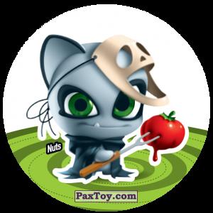 PaxToy.com  Фишка / POG / CAP / Tazo 151 Nuts из Gamesa: Super Funki Punky