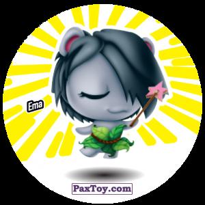 PaxToy.com  Фишка / POG / CAP / Tazo 152 Ema из Gamesa: Super Funki Punky