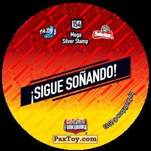 PaxToy.com - Фишка / POG / CAP / Tazo 154 Bunnie (Сторна-back) из Gamesa: Super Funki Punky