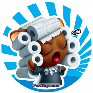 PaxToy.com  Фишка / POG / CAP / Tazo 157 Sniffie из Gamesa: Super Funki Punky