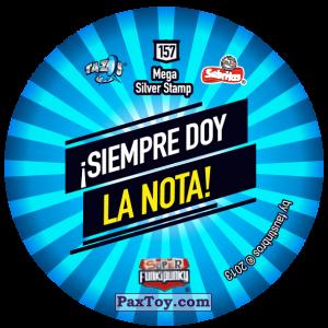 PaxToy.com - Фишка / POG / CAP / Tazo 157 Sniffie (Сторна-back) из Gamesa: Super Funki Punky