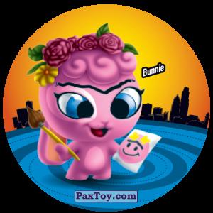 PaxToy.com  Фишка / POG / CAP / Tazo 158 Bonnie из Gamesa: Super Funki Punky