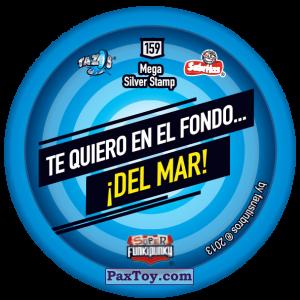 PaxToy.com - Фишка / POG / CAP / Tazo 159 Lennie (Сторна-back) из Gamesa: Super Funki Punky