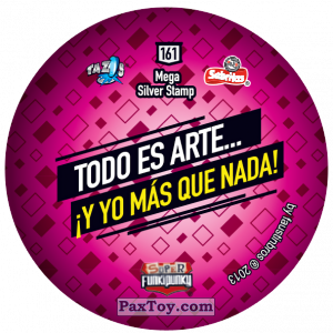 PaxToy.com - Фишка / POG / CAP / Tazo 161 Ema (Сторна-back) из Gamesa: Super Funki Punky