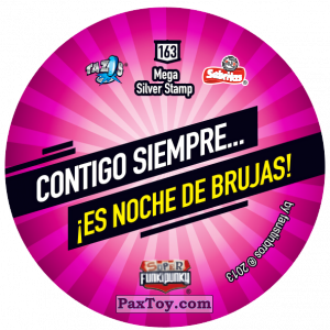 PaxToy.com - Фишка / POG / CAP / Tazo 163 Lennie (Сторна-back) из Gamesa: Super Funki Punky