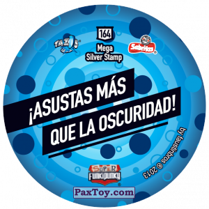 PaxToy.com - Фишка / POG / CAP / Tazo 164 Dot (Сторна-back) из Gamesa: Super Funki Punky