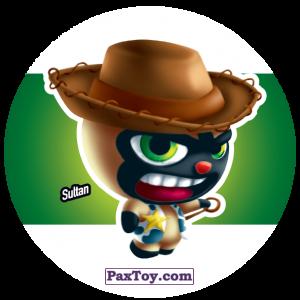 PaxToy.com  Фишка / POG / CAP / Tazo 167 Sultan из Gamesa: Super Funki Punky