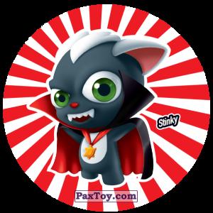 PaxToy.com  Фишка / POG / CAP / Tazo 168 Stinky из Gamesa: Super Funki Punky