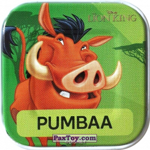 PaxToy.com - 17 Pumbaa из Woolworths: Disney Words