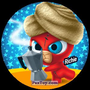 PaxToy.com  Фишка / POG / CAP / Tazo 170 Richie из Gamesa: Super Funki Punky