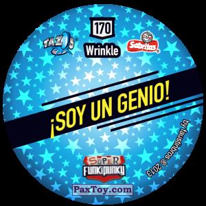 PaxToy.com - Фишка / POG / CAP / Tazo 170 Richie (Сторна-back) из Gamesa: Super Funki Punky