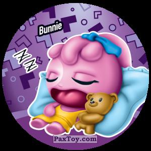 PaxToy.com  Фишка / POG / CAP / Tazo 171 Bunnie из Gamesa: Super Funki Punky