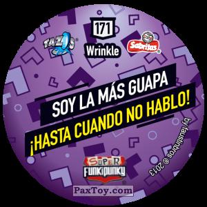 PaxToy.com - Фишка / POG / CAP / Tazo 171 Bunnie (Сторна-back) из Gamesa: Super Funki Punky