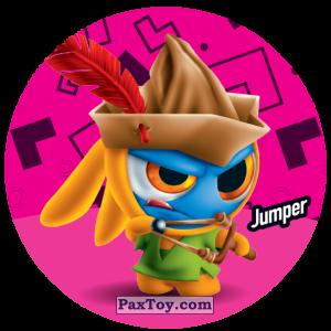 PaxToy.com  Фишка / POG / CAP / Tazo 172 Jumper из Gamesa: Super Funki Punky