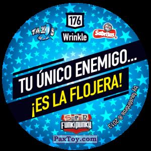 PaxToy.com - Фишка / POG / CAP / Tazo 176 Sniffie (Сторна-back) из Gamesa: Super Funki Punky