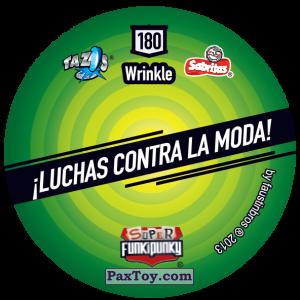 PaxToy.com - Фишка / POG / CAP / Tazo 180 Skycat (Сторна-back) из Gamesa: Super Funki Punky