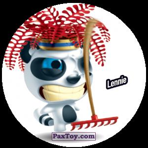 PaxToy.com  Фишка / POG / CAP / Tazo 186 Lennie из Gamesa: Super Funki Punky