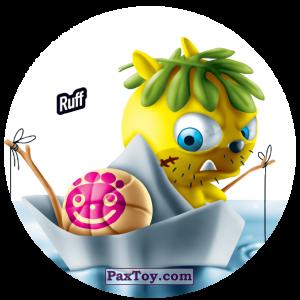 PaxToy.com  Фишка / POG / CAP / Tazo 187 Ruff из Gamesa: Super Funki Punky