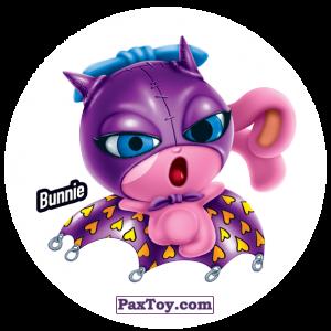 PaxToy.com  Фишка / POG / CAP / Tazo 192 Bunnie из Gamesa: Super Funki Punky