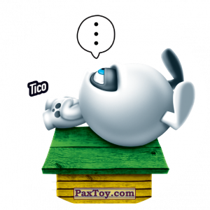 PaxToy.com  Фишка / POG / CAP / Tazo 195 Tico из Gamesa: Super Funki Punky
