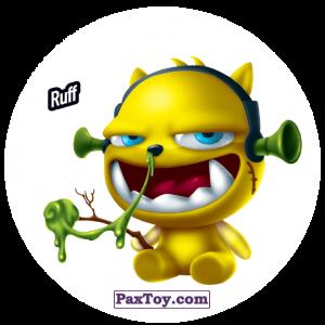 PaxToy.com  Фишка / POG / CAP / Tazo 198 Ruff из Gamesa: Super Funki Punky