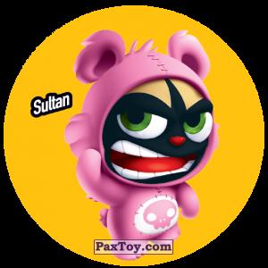 PaxToy.com  Фишка / POG / CAP / Tazo 202 Sultan из Gamesa: Super Funki Punky