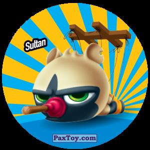 PaxToy.com  Фишка / POG / CAP / Tazo 203 Sultan из Gamesa: Super Funki Punky