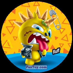 PaxToy.com  Фишка / POG / CAP / Tazo 207 Ruff из Gamesa: Super Funki Punky