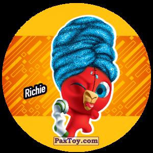 PaxToy.com  Фишка / POG / CAP / Tazo 210 Richie из Gamesa: Super Funki Punky