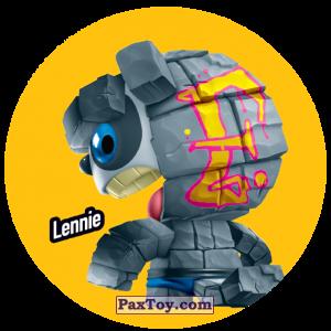 PaxToy.com  Фишка / POG / CAP / Tazo 212 Lennie из Gamesa: Super Funki Punky